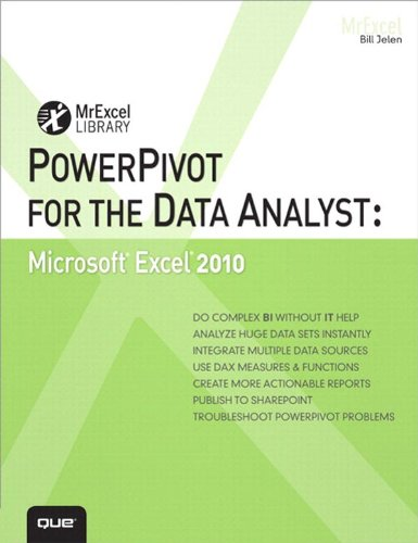PowerPivot for the Data Analyst: Microsoft Excel 2010 (MrExcel Library) (English Edition) (Kindle-desktop-software)