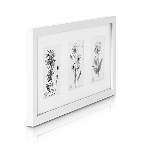 solid-wood-triple-frame-for-6x4-photos-perspex-front-frame-width-2cm-white