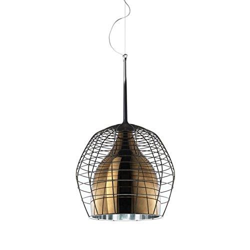 Diesel With Foscarini Cage Petit Lampe Suspendue Brun/Bronze