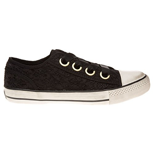 Ash Vicky Damen Sneaker Schwarz Schwarz