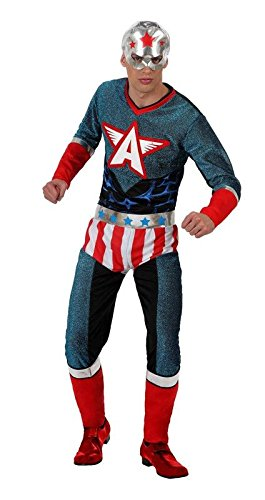 Disfraz Capitán América adulto - Único, L