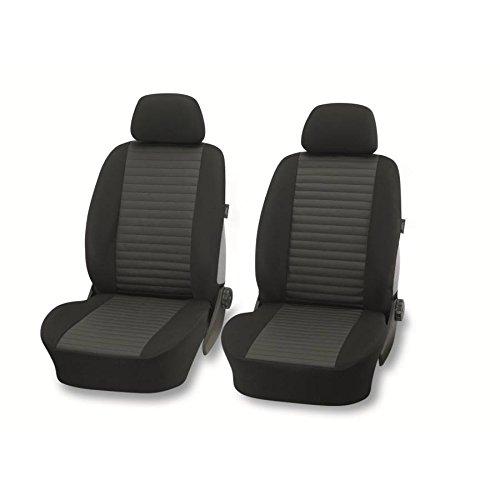 BlackStar01 Vordersitzbezüge 4tlg. schwarz Sitzbezug Schonbezüge universal passend Autositzbezüge Für Ford Fusion