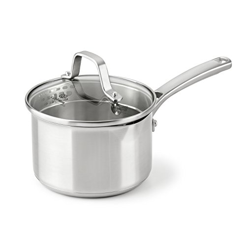 Calphalon Classic Stainless Steel Cookware, Sauce Pan, 1 1/2-quart