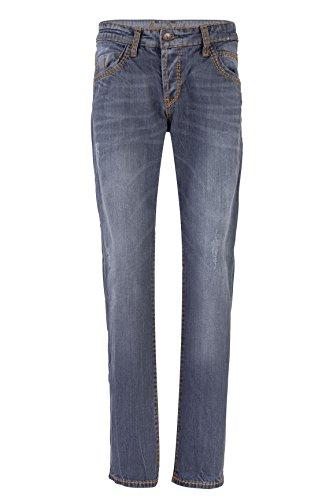 Robins Männer Jeans (Camp David Herren Jeans Straight Leg ROBIN SLIM FIT, Farbe: Grau, Größe: 32/34)