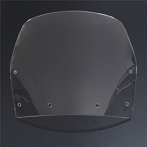 Wooya Motorradwindschild Windschutzblatt Doppelblase Für Kawasaki Ninja Zx250R 1998-2007-Klar