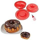 Giant Mega Doughnut Mould Big Top Cake Baking Set Tin