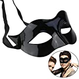 RXBC2011 Maske Maskerade Kostüm schwarz Party Ball Halloweenmaske Herren