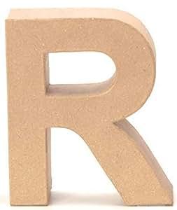 Lettera in Cartone R 17,5x5,5cm
