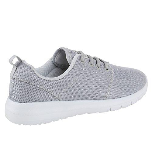 Modische Herren Sportschuhe   Freizeit Sneaker Snake   Laufschuhe Runners Trainers   Sneakers Schuhe Hellgrau Grau Weiss