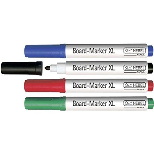 Maul Boardmarker Packungseinheit 4 Stück Rundspitz
