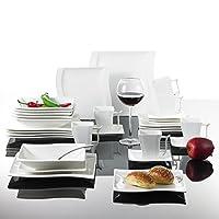 Malacasa, Flora, 30-Piece Porcelain Dinner Set