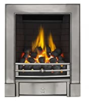 Sandhurst Full Depth Radiant Gas Fire - Polished Cast - P