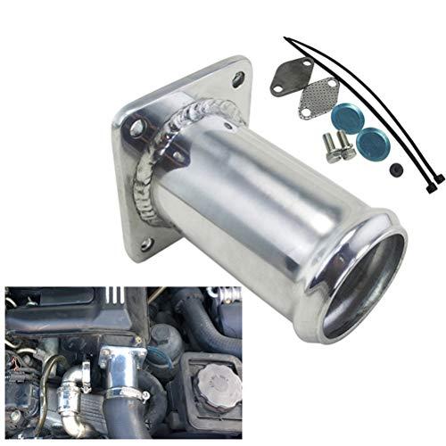 Aluminum EGR Removal Kit/EGR Delete Kit Blanking Bypass for Bmw E46 318D  320D 330D 330XD 320CD 318TD 320TD