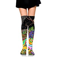 RGFJJE Hohe Socken Magical Psychedelic Trippy Art Training Socks Crew Athletic Socks Long Sport Soccer Socks Soft... preisvergleich bei billige-tabletten.eu