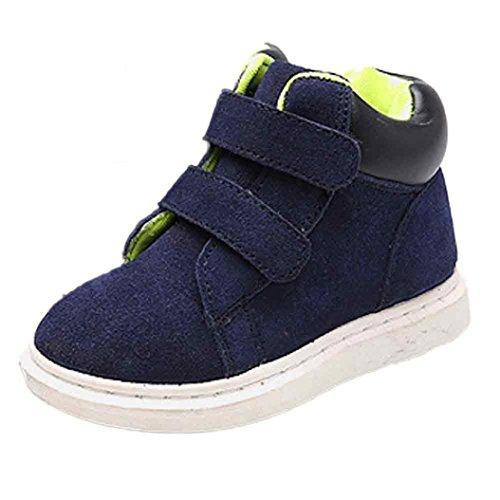 Chaussures de bébé,Fulltime® Enfants filles garçons Hight Cut cuir bottes bottines Martin