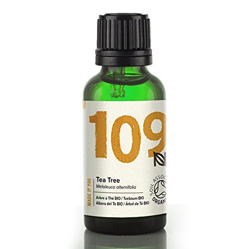 Naissance Teebaumöl 30ml BIO zertifiziert 100% naturreines ätherisches Öl
