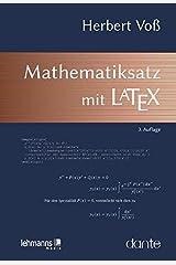 Mathematiksatz mit LaTeX Taschenbuch
