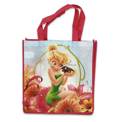 Tinkerbell Shopper Tote Flower Style by Disney