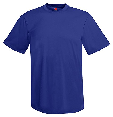 Hanes Mens Cool Dri Performance T-Shirt Deep Royal