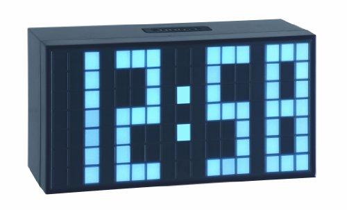 TFA 98.1082.02 Reloj Despertador Digital LED Azul