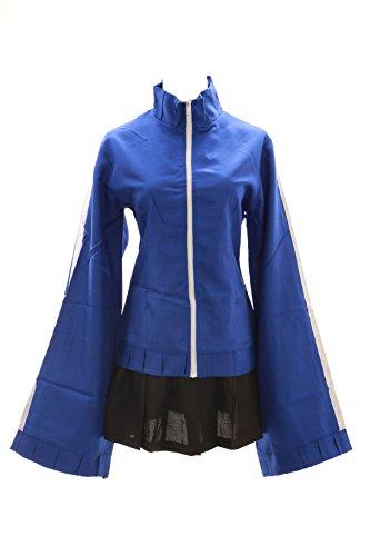 Kawaii-Story MN-09 Miku Vocaloid blau Kagerou Project Jacke Rock Cosplay Set Kostüm (Gr. ()