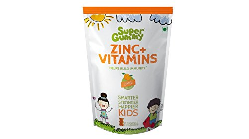 Super Gummy Zinc + Vitamins For Kids - 30 Chewable Supplements