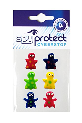 Preisvergleich Produktbild Spy Protect Webcam Sticker Monster