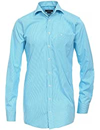 CASAMODA Herren Businesshemd 006052 Regular Fit extra lange Ärmel und Rumpf