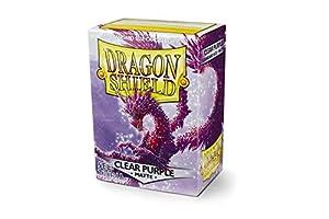 Dragon Shield- Sobres para Tarjetas, Color Morado Claro, 1