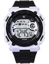 2019 multifunción Integral Deportivo Reloj Reloj Digital Impermeable de Doble acción 10M con Doble Efecto La