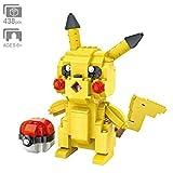 Ingenious Toys Pokemon Pikachu Figur - 438pcs Bauklötze Baukasten #A209
