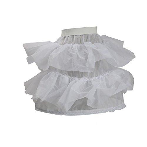 MagiDeal Vintage Unterrock Petticoat Krinoline Tüllrock Skirt für Tutu Kostüm