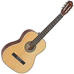 guitarras clásicas: Guitarra Española de Gear4music Natural