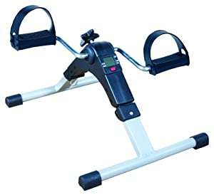 Pedal Exerciser with Digital Display & Adjustable Resistance