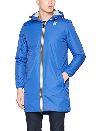 K-Way Le Vrai 3.0 Eiffel Orsetto Manteau, Bleu (Blue Royal 618), Medium Homm
