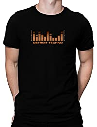 Teeburon Detroit Techno equalizer T-Shirt
