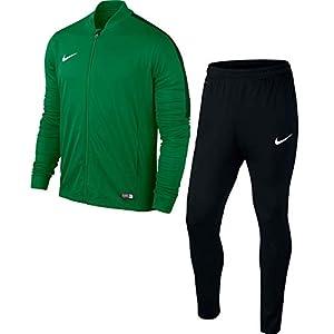Nike Academy16 Yth Knt Tracksuit 2, Tuta sportiva Ragazzo, Multicolore (Verde/Nero/Bianco), S
