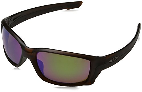 Oakley Herren Straightlink 933106 58 Sonnenbrille, Braun (Matte Rootbeer/Prizmshallowh2Opolarized),