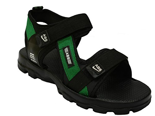 AbsMen's Green Synthetic Sandals - 8  available at amazon for Rs.319