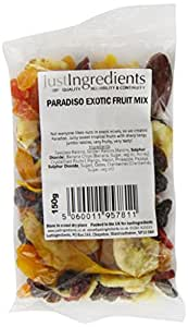 JustIngredients Essential Paradiso ExoticFruitMix 150g (Pack of 6)