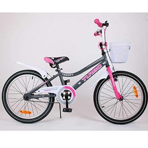 "scalesport 20TRE-Grey Kinderfahrrad 20\"" Zoll Kinder Fahrrad Rad Kinderrad Spielrad"