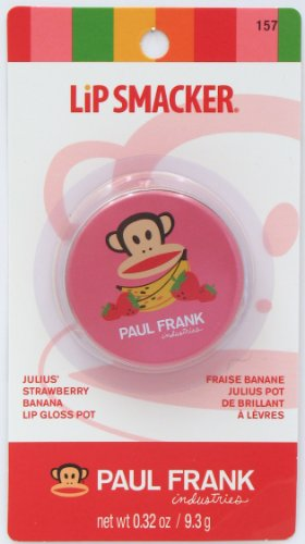 Lip Smacker Gloss Paul Franck Julius Fraise Banane
