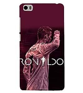 PRINTSHOPPII RONALDO FANS Back Case Cover for Xiaomi Redmi Mi5::Xiaomi Mi 5