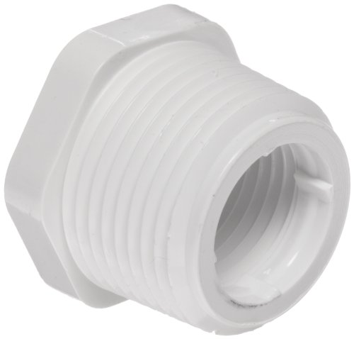 Spears 439Serie PVC-Rohr Fitting, BUSCHING, Schedule 40, NPT Stecker X NPT Buchse, 1-1/2