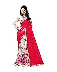 Airson Fab Hitansh pink Designer Saree
