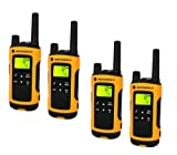 Motorola TLKR T80 Extreme Quadpack PMR Funkgeräte nach IPx4 (wetterfest, Reichweite bis zu 10 km) - 5