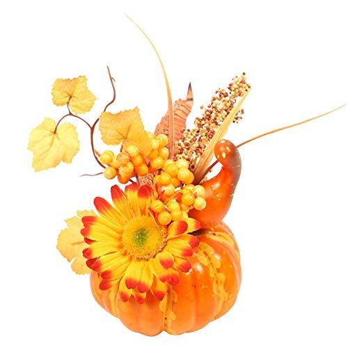Halloween Simulation 3D Kürbis Ahornblatt Granatapfel Dekoration Requisiten Tisch Set