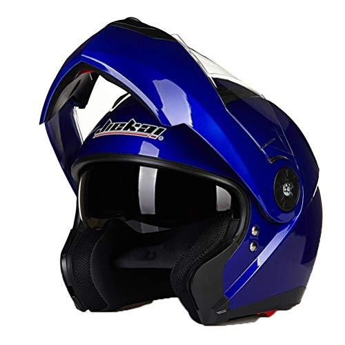 Visiera a doppia visiera modulabile per adulti Visiera a doppio casco professionale per mountain bike Motocross Protezioni anti crash Crash Downhill Outdoor Protezioni per il motociclismo