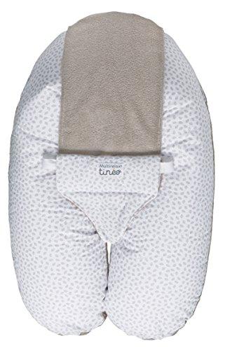 Tinéo Multirelax Coussin de Maternité Éponge Grège
