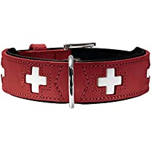 Hunter - Collar de piel orgánica, con diseño de Suiza